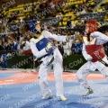 (R) Sophie Ormrod NAT=GBR   TEAM=Lion Taekwondo  ; (B) Supharada Kisskalt  NAT=GER    TEAM=German National Team   ; Match=501   ; Winner=Blue