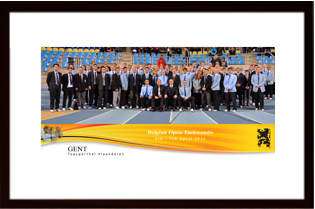 Belgium Open 2013 - Framed Referee Picture